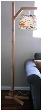 Diy Wood Floor Lamp Best 20 Diy Floor Lamp Ideas On Pinterest Copper Floor Lamp