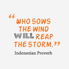 Indonesian Wisdom About Trouble