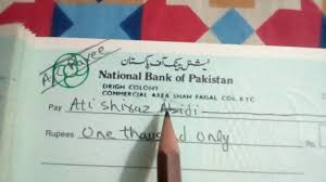 The Proper Way To Fill Up The Cheque Urdu Hindi Youtube