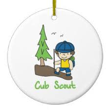 Cub Scout Ceramic Ornament