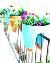 ikea balcony hanging pots planters australia bunnings architectures fascinating planter home garden metal