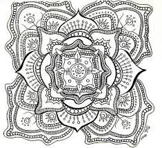 Small Picture Free printable mandala coloring pages for kids adults and seniors