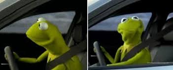 kermit driving face. Unique Driving Meme Generator Image Preview With Kermit Driving Face V