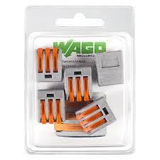 Самозажимные <b>клеммы Wago</b> 3 провода 5 шт купить по цене ...