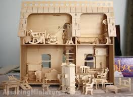 cheap doll houses with furniture. Creatology Dollhouse With Veranda \u0026 Furniture Set All Together Cheap Doll Houses R