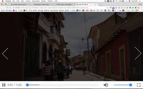 css how to hide video control bar