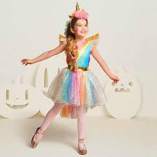 Baby Girl Clothes Sets <b>Kids</b> Outfits Girls Unicorn Tops+Rainbow ...