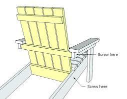 tall adirondack chair plans ximeraofficialorg