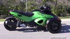 used 2012 can am spyder rss motorcycles for sale youtube