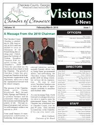 visions by cherokee county chamber of commerce issuu