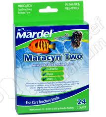 maracyn two 2 antibiotic fish cation freshwater r 24 pk mardel 80531470404 ebay
