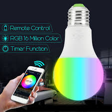 Wifi Tube Light Details About E27 B22 Smart Light Bulb Wifi Lamp Rgb Led Remote Control For Amazon Alexa Echo