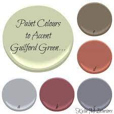 Accent Colors For Green Benjamin Moore 2015 Colour Of The Year Guilford Green