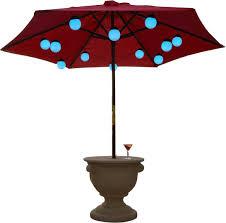 Globe Umbrella Lights Patio Living Concepts12 Globe Color Changing Umbrella Light
