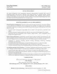Management Resume Examples Property Samples Executive 2016