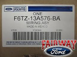 96 97 f 250 f 350 super duty oem ford trailer tow wire harness w 3 of 6 96 97 f 250 f 350 super duty oem ford trailer tow wire