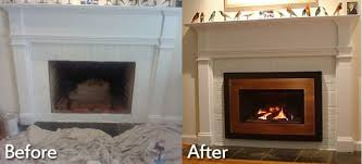 photo 1 of 6 building process 29 fireplace installation you intended for installing a gas fireplace insert marvelous