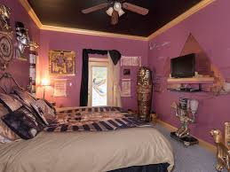 egyptian themed bedroom mummy room at the ever after estate near orlando fl
