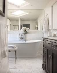 106 best white subway tile bathrooms images on pinterest bathroom beautiful master bath with soaking tub 1 carrara marble hexagon tiles floor marble subway tiles shower surround ebony stained restoration hardware french