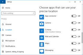 How To Disable Clear Location History In Windows 10