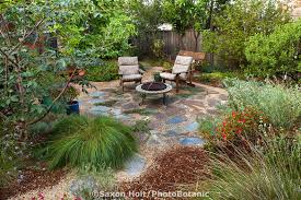 california native plants for the garden. Path Leading To Backyard Permeable Patio With Firepit And Chairs Well Mulched California Native Plants For The Garden G