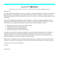 Template Follow Up Interview Letter Template Brand Manager Cover
