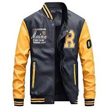 riverdale southside serpents riverdale jacket men embroidery baseball jackets leather coats slim fit college jackets coats canada 2019 from sizhu