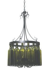 diy wine bottle chandelier sound view 22 of 45