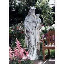 blessed virgin mary outdoor statues designs
