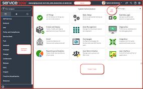 servicenow user interface