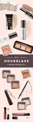a plete list of all hourgl makeup s and brushes that are considered vegan does