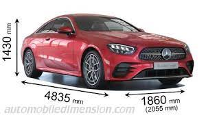 The automatic petrol engine has a automatic. Dimensions Of Mercedes Benz Cars Showing Length Width And Height