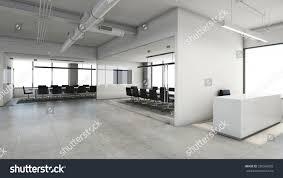 modern office reception design. Office Reception Design Modern \u0026 Loft - 3D Render T