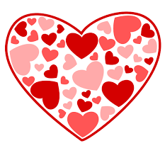 valentine s day hearts clip art. Plain Hearts Free Heart Filled With Hearts Clip Art Intended Valentine S Day A