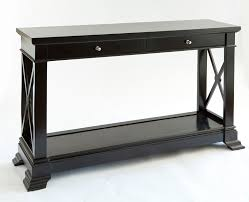black hall console table. Decoration Black Hall Console Table With Glass And Chrome Intended For B