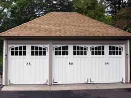 Paint grade double and single garage doors AJ Garage Door Long