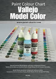 Paint Colour Chart Vallejo Model Color 12mm