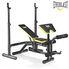 Bench Press £200  £399  Muscle Fitness And NutritionEverlast Bench Press