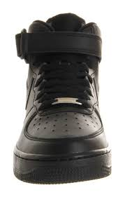 air force 1 office. Footwear Womens Nike Air Force 1 Mid GS Black - Office Girl Online