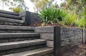retaining wall ideas by outback