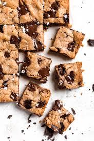 Tahini Chocolate Chip Blondies Broma Bakery