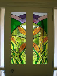 glass painting designs on doors fresh special for kitchen rustic 13