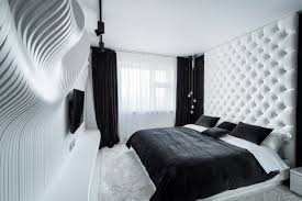black and white bedroom decor. Geometrix Black And White Bedroom Furniture Decor A