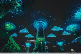 Toy Story Light Show Gardens By The Bays Childrens Festival 2019 Disney And