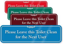 please lock door sign. Bathroom Doors Open Or Closed Keep Clean Signs Please Lock Door Sign