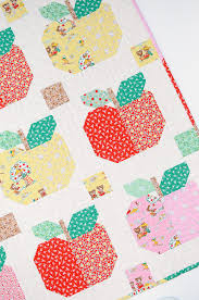 Sweet Apples Baby Quilt and Pillow Pattern by ellis & higgs made ... & Sweet Apples Baby Quilt and Pillow Pattern by ellis & higgs made with Elea  Lutz's Apple Adamdwight.com