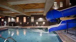 Indoor Pool And Slide