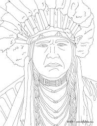 Native Americans Coloring Pages Powhatan Coloring Page Coloring