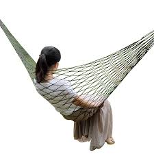 Portable Garden Nylon <b>Hammock</b> swingHang Mesh Net Sleeping ...