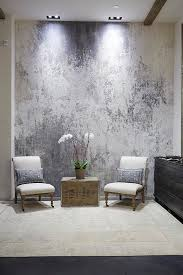 Beautiful Faux Effects Plaster by Lynnette Wright. So in love with the  placement and colors Contemporary home, metallic wall paper,